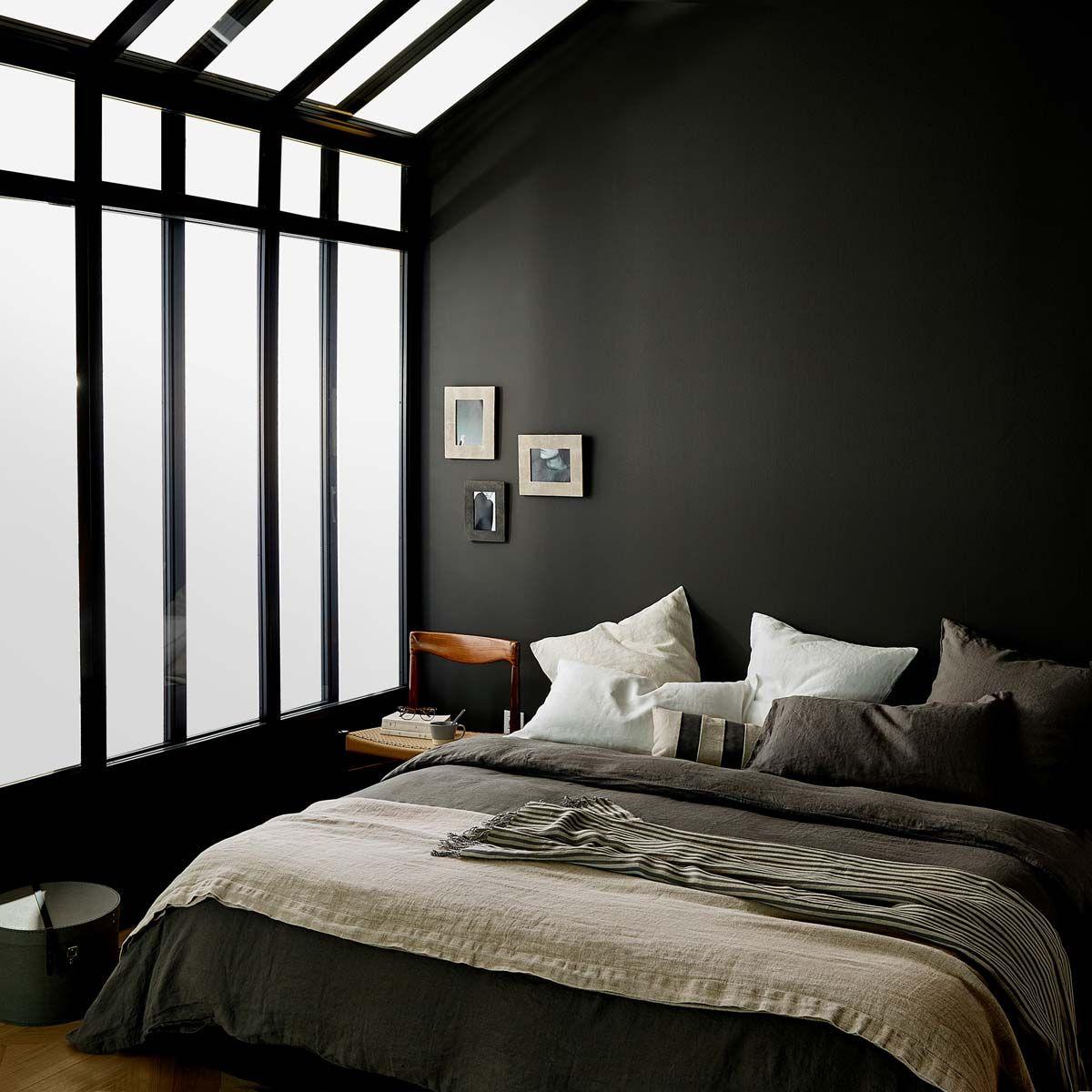 rustique couvre lit beige lin zara home. Black Bedroom Furniture Sets. Home Design Ideas