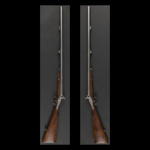 Expertissim - Carabine et fusil-Expertissim-Fusil de chasse à percussion deux coups
