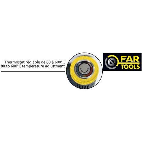 FARTOOLS - Decapeur thermique-FARTOOLS-Décapeur thermique 2000 watts pro Fartools