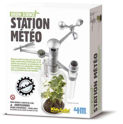 4M - Station Météo-4M-Kit création station météo expérience scientifique