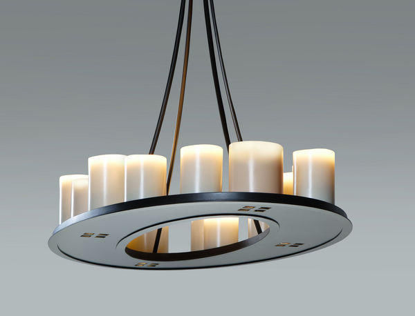 Kevin Reilly Lighting - Suspension-Kevin Reilly Lighting-Math Ring