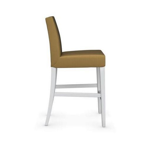 Calligaris - Chaise haute de bar-Calligaris-Chaise de bar LATINA de CALLIGARIS jaune moutarde