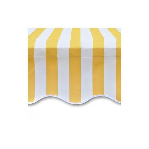 WHITE LABEL - Store banne-WHITE LABEL-Store banne manuel de jardin rétractable 3 x 2,5 m auvent tonnelle pavillon