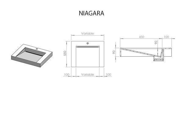 ADJ - Vasque à poser-ADJ-Niagara