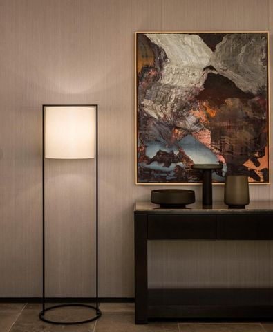 Kevin Reilly Lighting - Lampadaire-Kevin Reilly Lighting-Pattern floor lamp