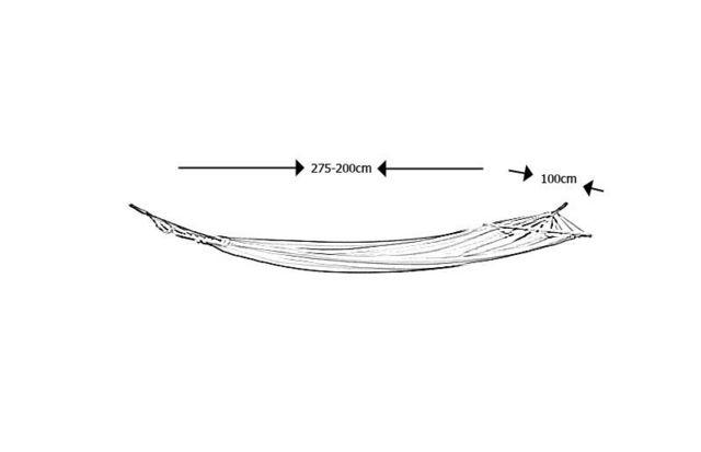 Aubry-Gaspard - Hamac-Aubry-Gaspard-Hamac à barres en coton et polyester Passion