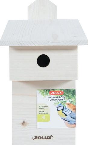 ZOLUX - Maison d'oiseau-ZOLUX-Nichoir en bois Châtaigne
