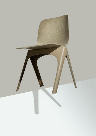 LABEL/BREED - Chaise visiteur-LABEL/BREED-Flax chair