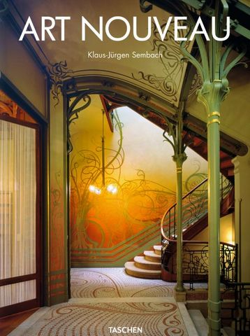 Editions Taschen - Livre de décoration-Editions Taschen-L'Art Nouveau