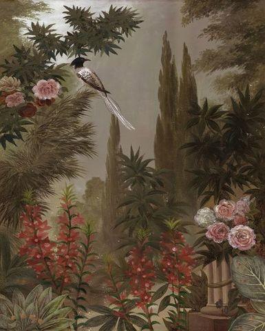 Ananbô - Papier peint panoramique-Ananbô-Le jardin à la mandragore