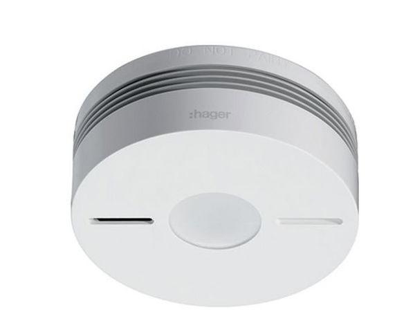 Hager France - Alarme détecteur de fumée-Hager France-S155-22X