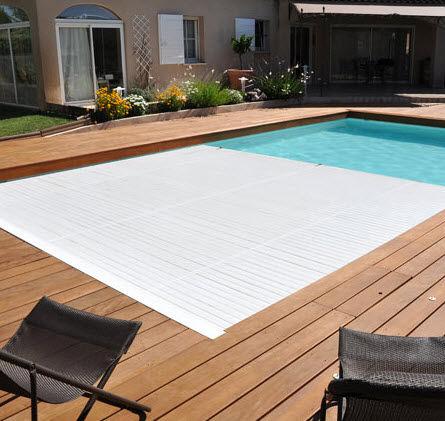 DEL - Couverture de piscine automatique-DEL-Rollin volet immergé