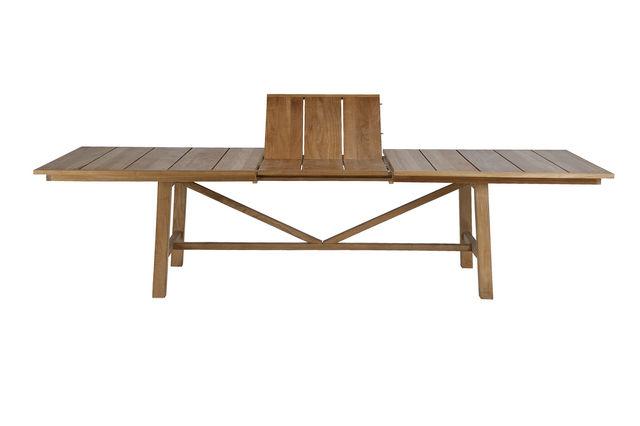 Unopiù - Table de jardin à rallonges-Unopiù-Synthesis