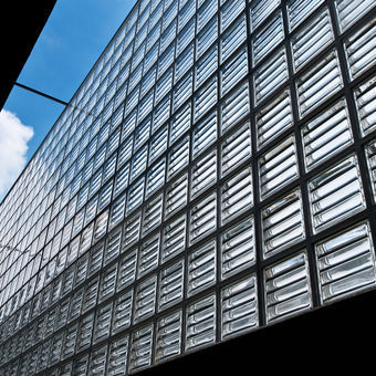 Rouviere Collection - Brique de verre-Rouviere Collection-brique de verre Dorique