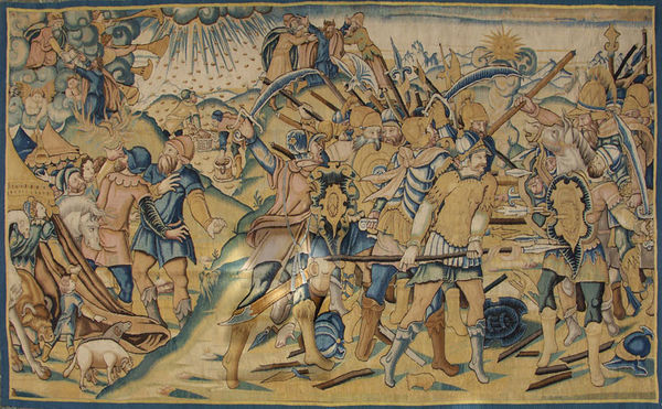 Galerie Hadjer - Tapisserie d'Aubusson-Galerie Hadjer-SCÈNE DE L'ANCIEN TESTAMENT