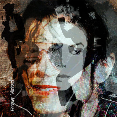 Magel'design - Portrait-Magel'design-Forever Michael Jacksons 80x80 cm