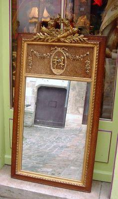 Art & Antiques - Trumeau-Art & Antiques-Trumeau Louis XVI XIXe