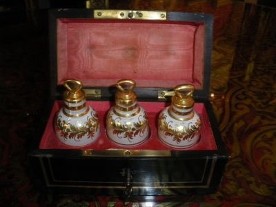 Art & Antiques - Coffret à parfum-Art & Antiques-Coffret à senteurs Napoléon III