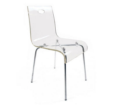 Miliboo - Chaise empilable-Miliboo-CINDY