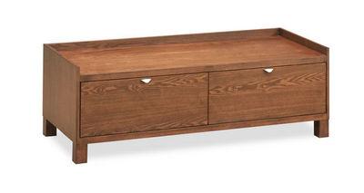 Miliboo - Meuble tv hi fi-Miliboo-ANTONIO  meuble TV 2 tiroirs