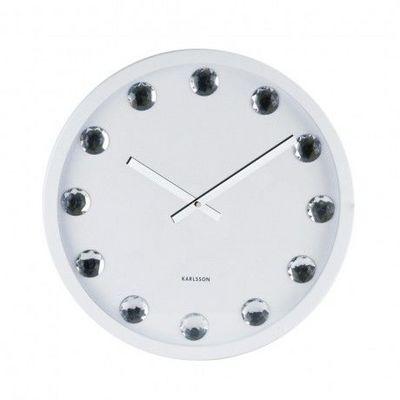Karlsson Clocks - Horloge murale-Karlsson Clocks-Karlsson - Horloge Big Diamond - Karlsson - Blanc
