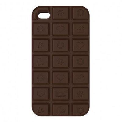 BUD - Coque de t�l�phone portable-BUD-BUD By Designroom - Coque iphone 4 design Chocolat