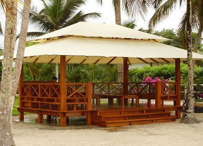 Honeymoon - Gazebo-Honeymoon-Custom Sunset
