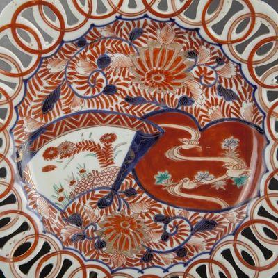 Expertissim - Coupe décorative-Expertissim-Trois coupes Imari. Japon, XIXe siècle