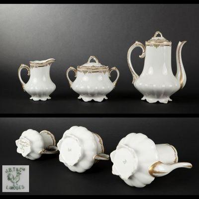 Expertissim - Service à café-Expertissim-LIMOGES. Service à café en porcelaine