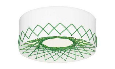 Zero - Plafonnier-Zero-Cord plafonnier vert
