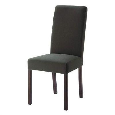 Maisons du monde - Housse de chaise-Maisons du monde-Housse grise Margaux