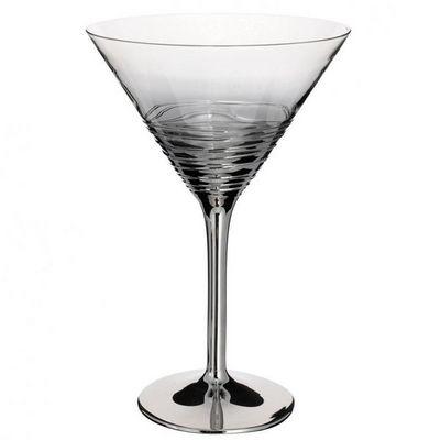 Maisons du monde - Coupe à champagne-Maisons du monde-Coupe cocktail Twister argent