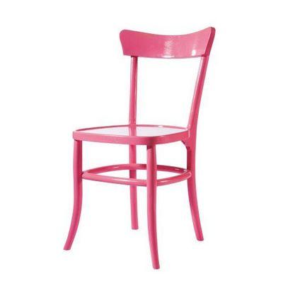 Maisons du monde - Chaise-Maisons du monde-Chaise rose Bistrot