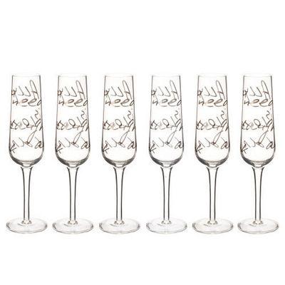 Maisons du monde - Flûte à champagne-Maisons du monde-Coffret 6 flûtes All you need