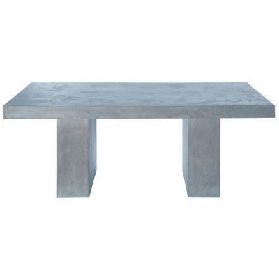 Maisons du monde - Table de repas rectangulaire-Maisons du monde-Mineral