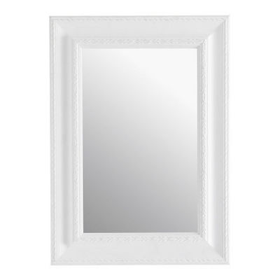 Maisons du monde - Miroir-Maisons du monde-Miroir L�onore blanc 65x90