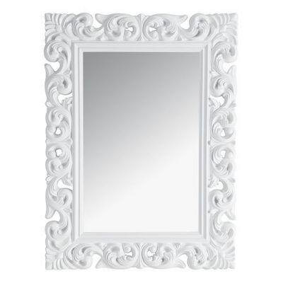 Maisons du monde - Miroir-Maisons du monde-Miroir Rivoli blanc 90x120