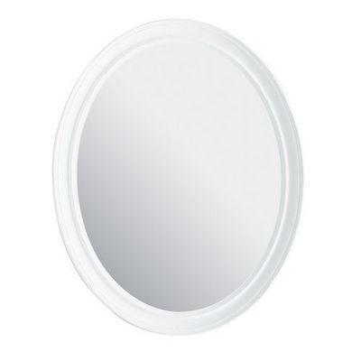 Maisons du monde - Miroir-Maisons du monde-Miroir Elianne ovale blanc