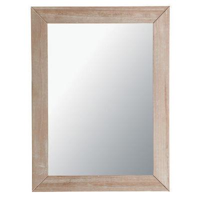 Maisons du monde - Miroir-Maisons du monde-Miroir Natura cérusé 90x120