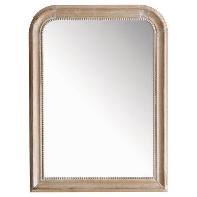 Maisons du monde - Miroir-Maisons du monde-Miroir Louis naturel 60x80