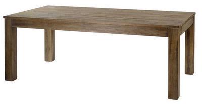 ZAGO - Table de repas rectangulaire-ZAGO-Table repas extensible en teck teinte