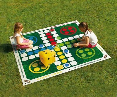 Traditional Garden Games - Aire de jeux-Traditional Garden Games-Jeu de petits chevaux de jardin géant