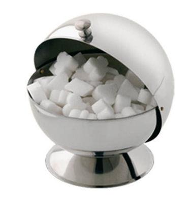 Tellier Gobel & Cie - Sucrier-Tellier Gobel & Cie-Boule à sucre en inox 14x16x14cm