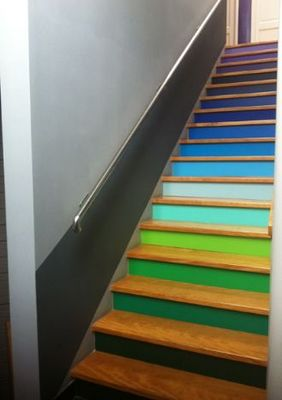 likeacolor - Habillage d'escalier-likeacolor-Sur mesure
