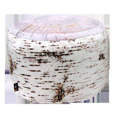 MEROWINGS - Pouf-MEROWINGS-Birch Stump Indoor Pouf