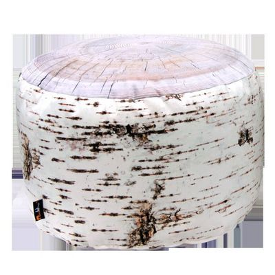 MEROWINGS - Pouf-MEROWINGS-Birch Stump Indoor Pouf