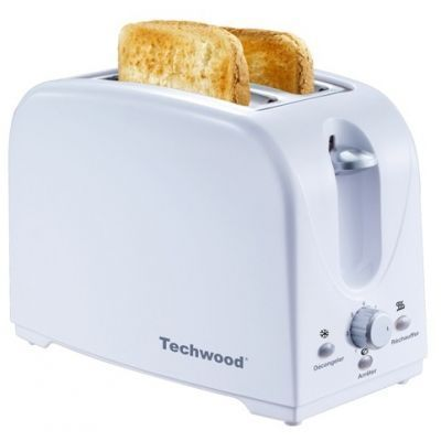 TECHWOOD - Toaster-TECHWOOD-Grille pain blanc
