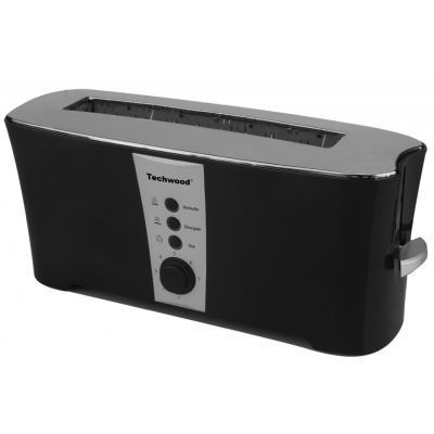 TECHWOOD - Toaster-TECHWOOD-Grille pain Techwood blanc ou noir - Couleur - Noi