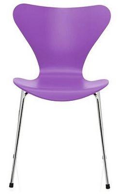 Arne Jacobsen - Chaise-Arne Jacobsen-Chaise Sries 7 Arne Jacobsen 3107 Bois structur Vi