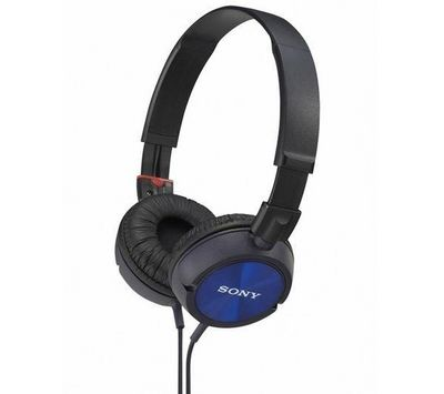 SONY - Casque audio-SONY-Casque MDR-ZX300 - bleu